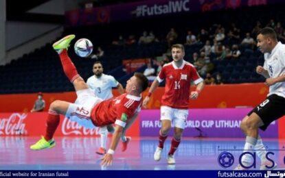 برنامه بازیهای روز سوم جام جهانی فوتسال