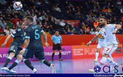 بهترین گل جام جهانی فوتسال ۲۰۲۱ توسط ایران به ثمر رسید