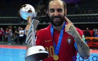 کاپیتان تیم ملی فوتسال پرتغال؛از بیمارستان تا قهرمانی درجام جهانی+عکس